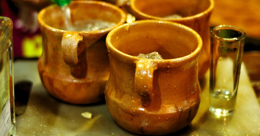 Cantaritos of tequila