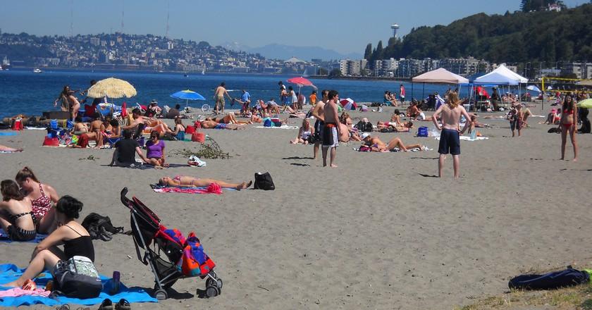 Alki Beach Park | © Seattle Parks / Flickr