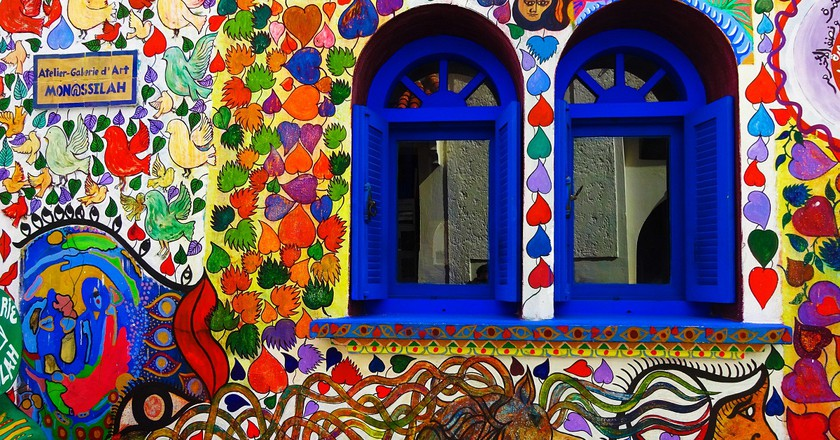 Brightly painted walls of Asilah | © Gerard Justo / Flickr