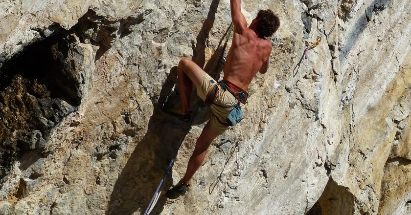 Rock climbing | © fcja99/Pixabay