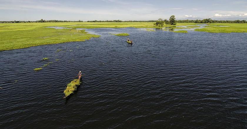 Doriya River of Majuli Island | © Dhrubazaan Photography / Wikimedia Commons