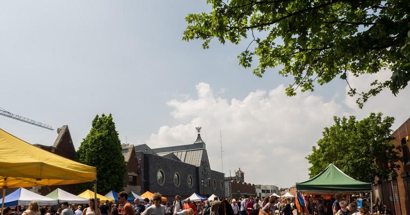 The Dublin Flea Market in Newmarket Square | © Sebastian Dooris/ Flickr