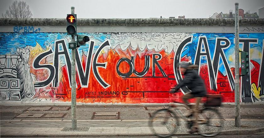 Artwork on the Berlin Wall |  Pixabay