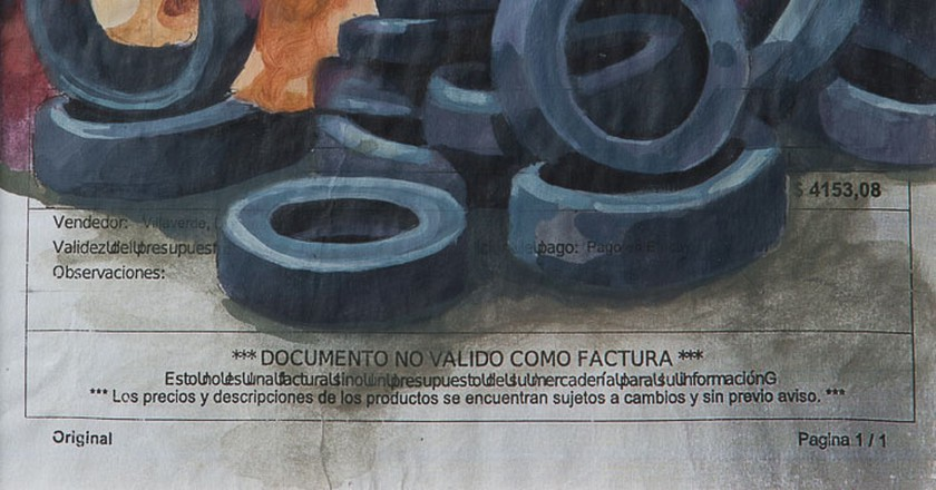 One of the repurposed bills for Pimp My Factura | © El Marian/Pimp My Factura