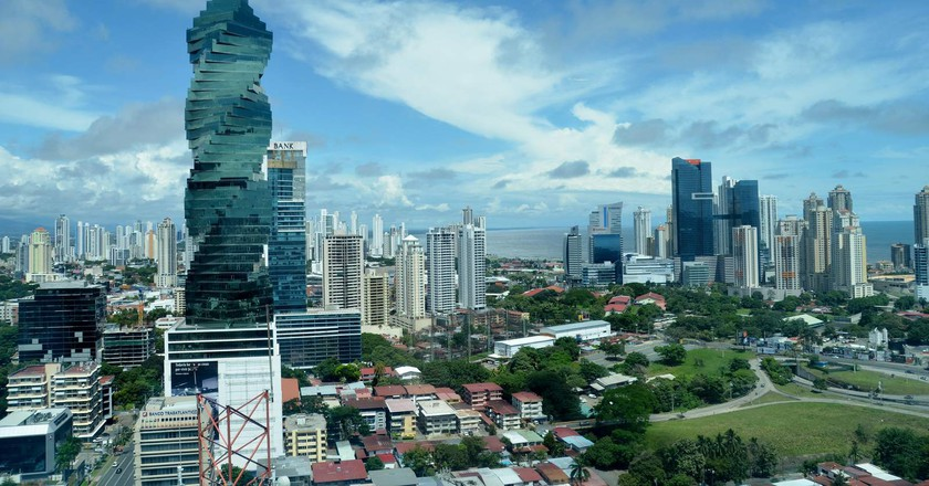 View over Panama City's financial district   © Woondu