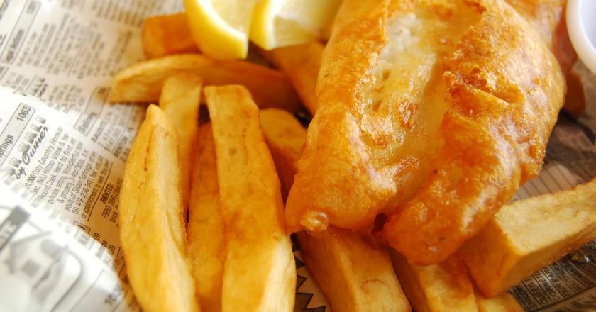 Fish and chips | © LearningLark/Flickr