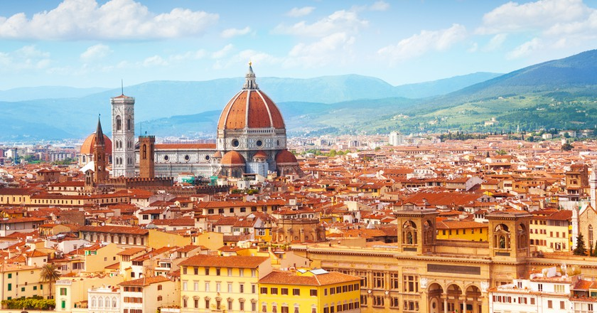 Panorama of Florence and Saint Mary of the Flower in Florence   © Sergey Novikov/Shutterstock