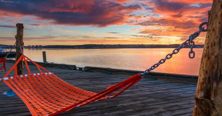 Halifax Waterfront Hammocks | Courtesy of Destination Halifax