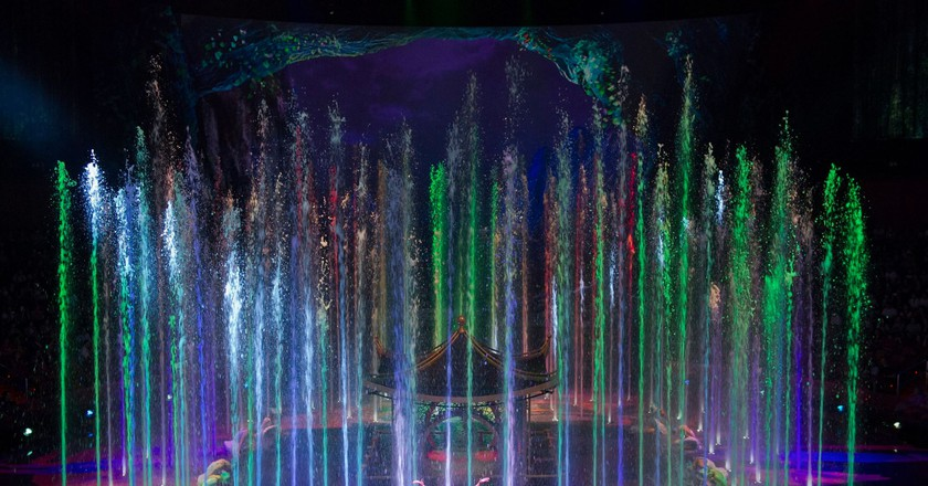 House of Dancing Water show   Courtesy of Dragone Entertainment