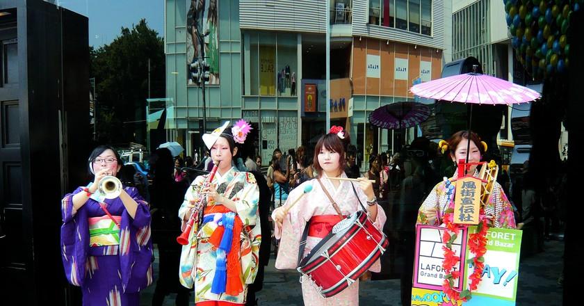 Laforet 'Chindon' Music Band - Harajuku - Tokyo | © S./Flickr