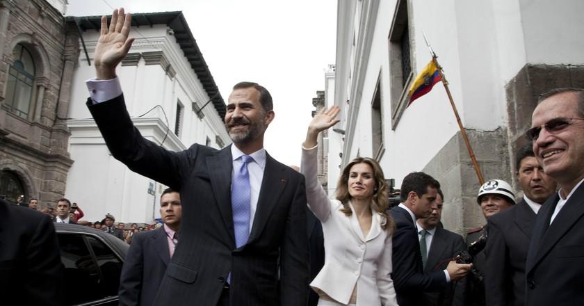 King Felipe and Queen Letizia | © Cancillería del Ecuador / Flickr