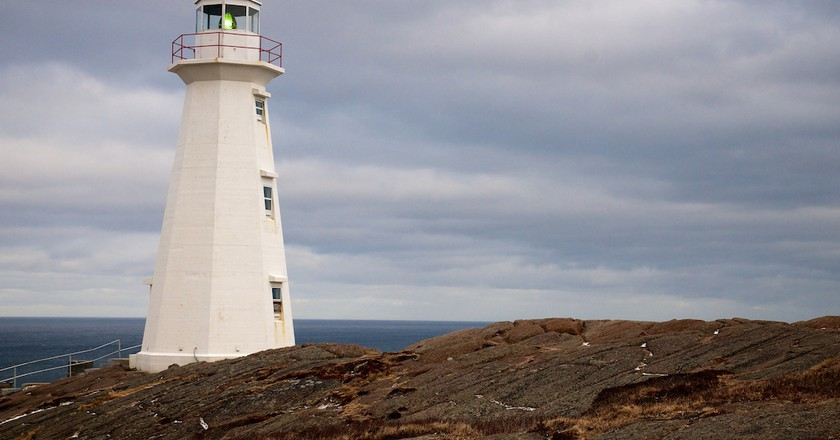 Lighthouse at Cape Spear, Newfoundland | ©  Michael Pick/ Flickr