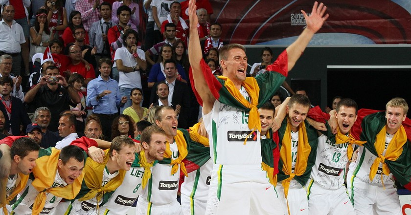 Lithuania national basketball team 2010 | © Wikicommons