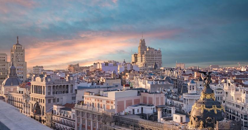 Madrid skyline | © Creative Lab / Shutterstock