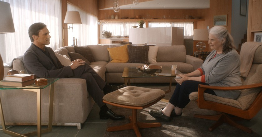 Jon Hamm and Lois Smith in Marjorie Prime | © FilmRise