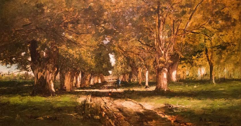 Mihály Munkácsy, Fasor (1886)   Courtesy of Bobo Boom / Flickr © Mihály Munkácsy