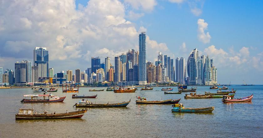 View of Panama City's skyline