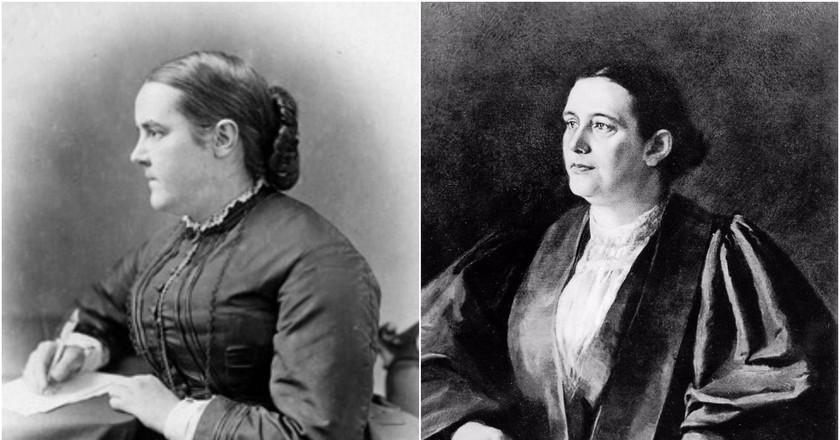 Sophia Jex-Blake (left) and Edith Pechey (right) | © Wikimedia