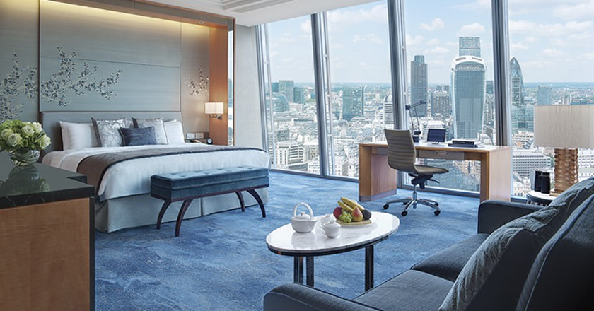 Premier City View Room | © Shangri-La, At The Shard, London