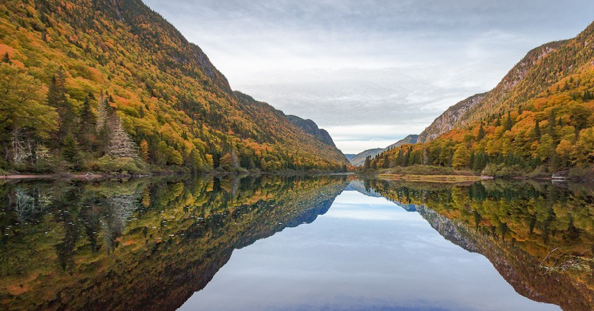 Miroir Jacques Cartier, Quebec | © Laurent GASS / Flickr