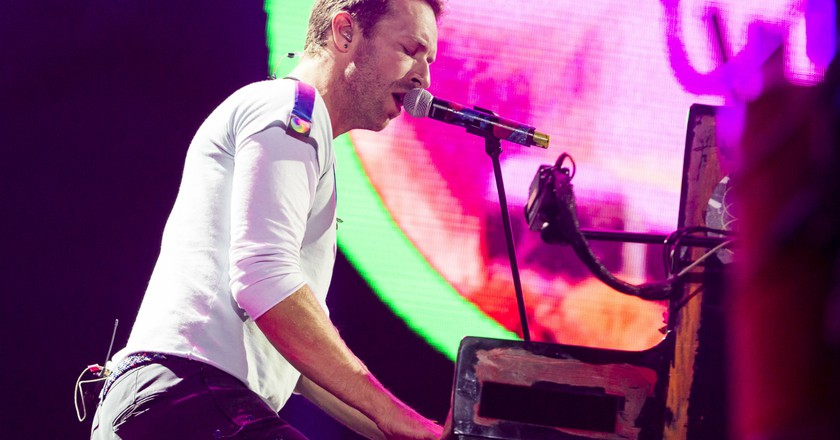 Chris Martin of Coldplay © Franck,Patrick/action press/REX/Shutterstock