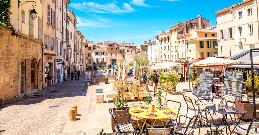 Aix has some very trendy neighbourhoods | © RossHelen/Shutterstock