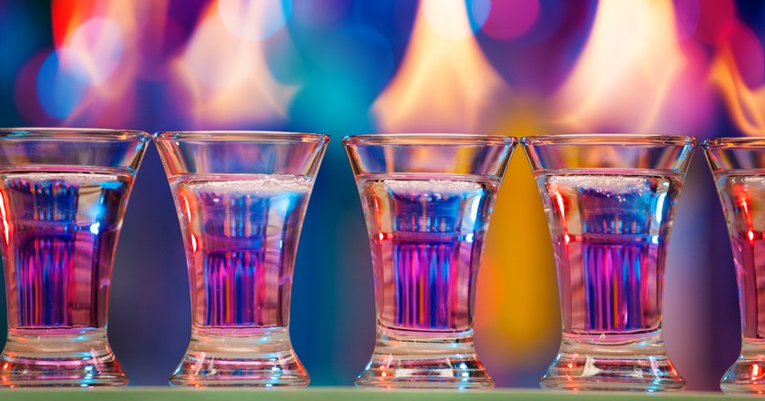 Flaming shots | © Sergey Novikov/Shutterstock