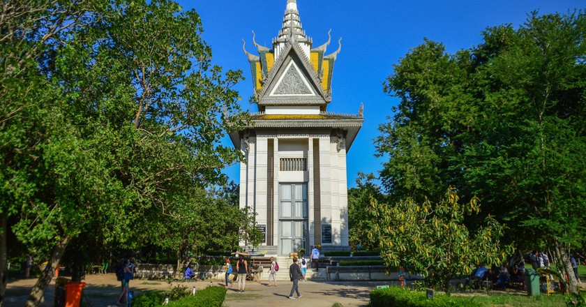 The Killing Fields on the outskirts of Phnom Penh pays tribute to the lives lost during the Khmer Rouge regime | © Sophie Lenoir/ Shutterstock