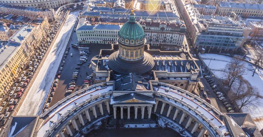 Kazan Cathedral  | Drozdin Vladimir / Shutterstock