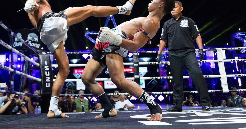Muay Thai fights in Bangkok | © nattanan726/Shutterstock