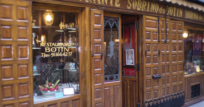 Sobrino de Botín, Madrid ©Esetena/Wikimedia