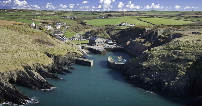 Porthgain, Pembrokeshire South Towns and Villages | © Wales Screen