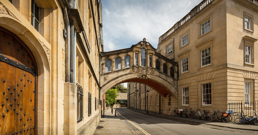The Bridge of Sighs, Oxford | © Michael D Beckwith/Flickr