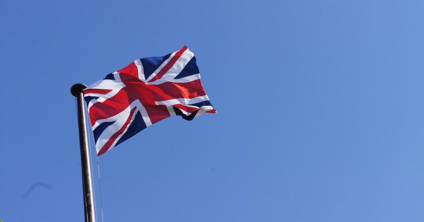 Union Jack flag at full mast   © Rian (Ree) Saunders Flickr