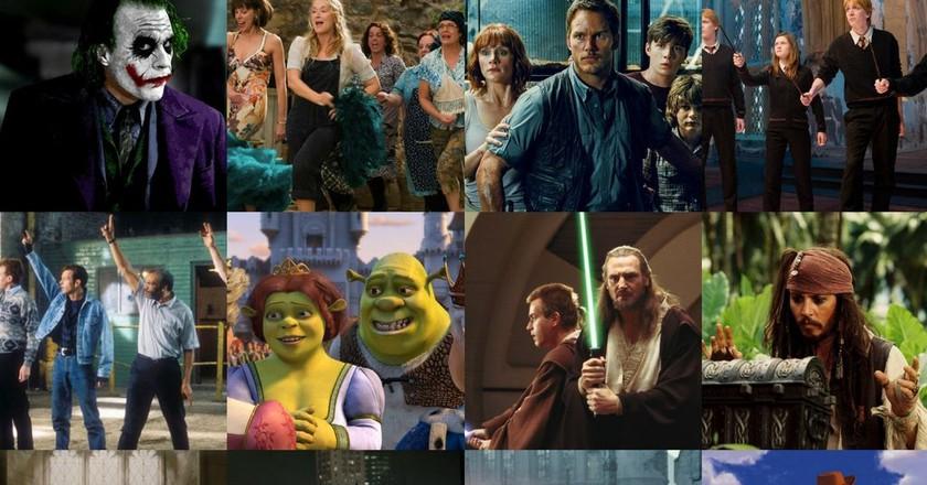 © Warner Bros. Pixar, UIP, Disney, Universal, 20th Century Fox
