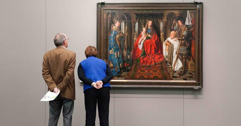 Van Eyck at the Groeningemuseum | © Jan D'Hondt / Courtesy of Visit Bruges