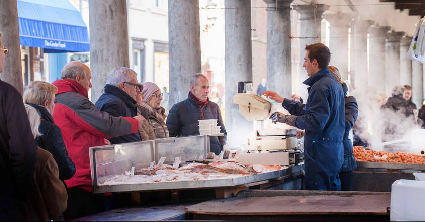 Vismarkt or 'Fish Market' | © Jan D'Hondt / Courtesy of Visit Bruges