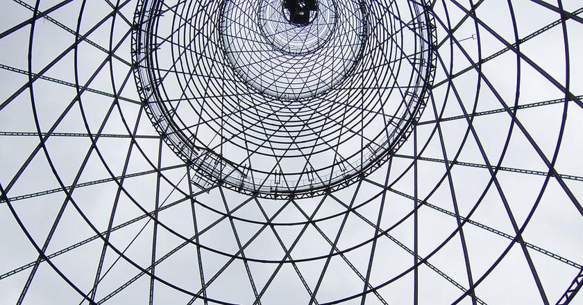 Shuckov Radio Tower |© Arssenev/Wikimedia