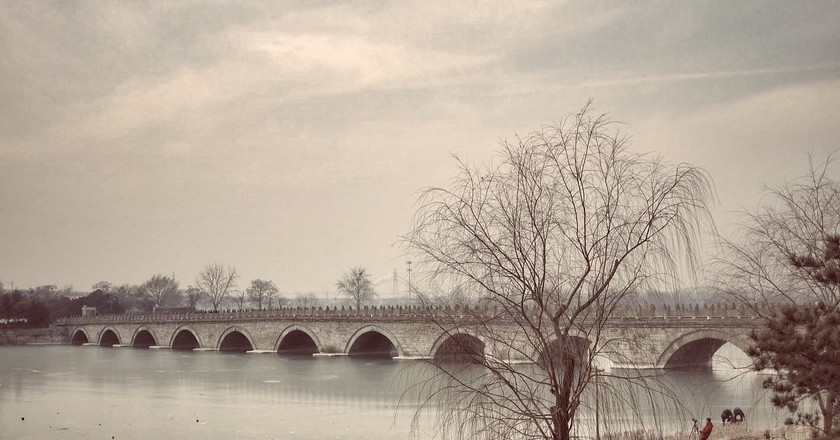 The Lugou Bridge (The Marco Polo Bridge)