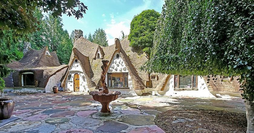 Snow White inspired cottage | Image courtesy of broker Rick Ellis of John L. Scott Real Estate © Mary Eklund