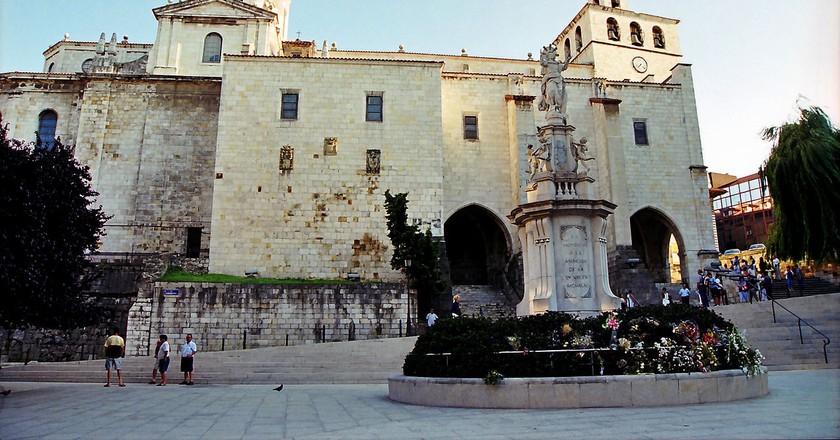 Visit the Catedral de Santander in Spain