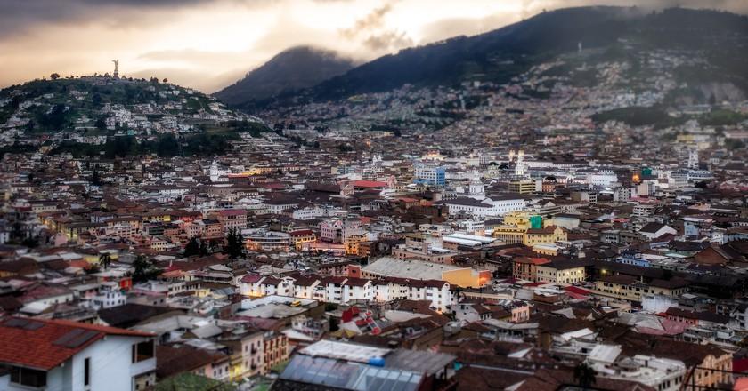 Historic Center of Quito, Ecuador   ©Simon Matzinger /Flickr