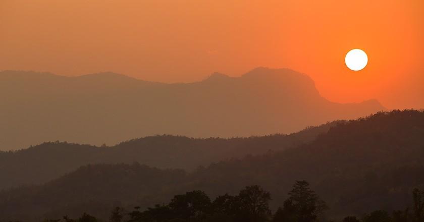 The sun sets on Thailand   © Atibordee Kongprepan/Flickr
