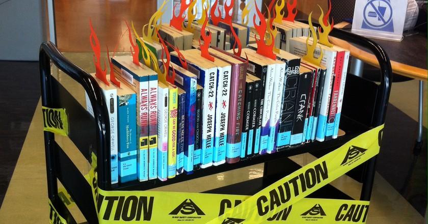 Banned Books 2017 | © San José Public Library/Flickr