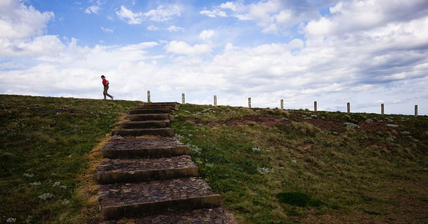 Countryside jog, Uruguay