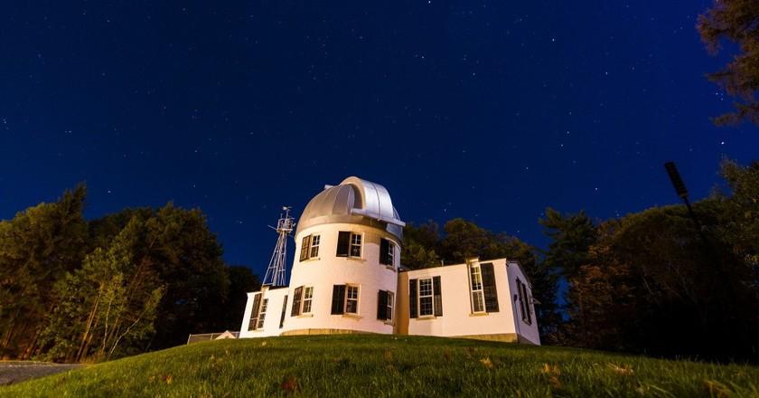 Shattuck Observatory | © Courtesy of Dartmouth College/Joshua Renaud