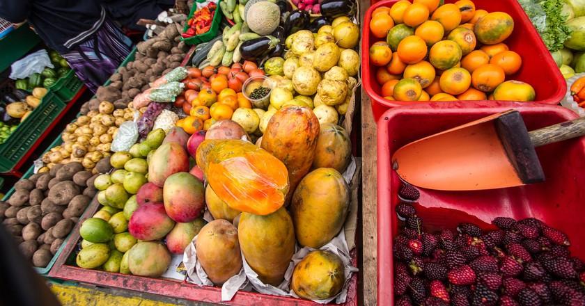 Bogota food market | © CucombreLibre / Flickr