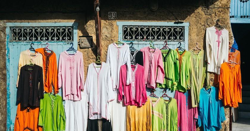 Moroccan clothing | © Benson Kua