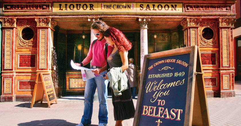 The Crown Bar, Belfast | Courtesy of Tourism NI