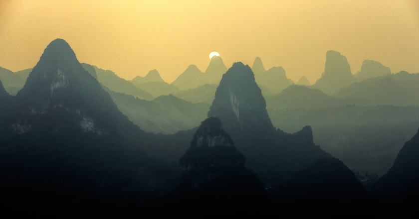 Sunset in Guilin | ©Carlos Adampol Galindo/Flickr